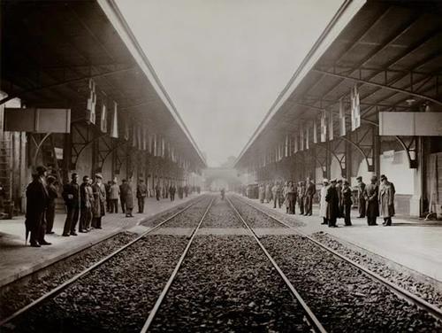 1936 - Inauguració de l'Estació de Sants - Barcelona