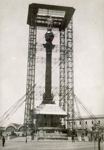 1888 - Monument a Colom - Barcelona