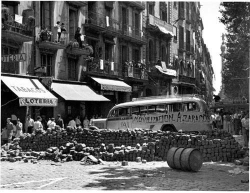 19 de juliol 1936 - Rambles - Barcelona