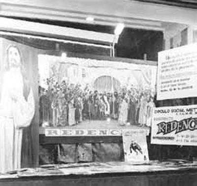 Expositor d'obres de teatre que feia el Círculo Social Metropolitano