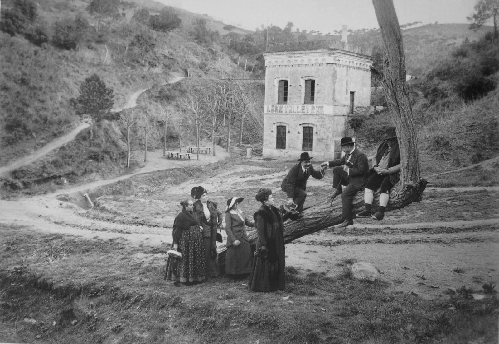 1907 - Pantà de Vallvidrera - Barcelona