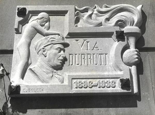 19370701 - Via Durruti - Via Laietana - Barcelona