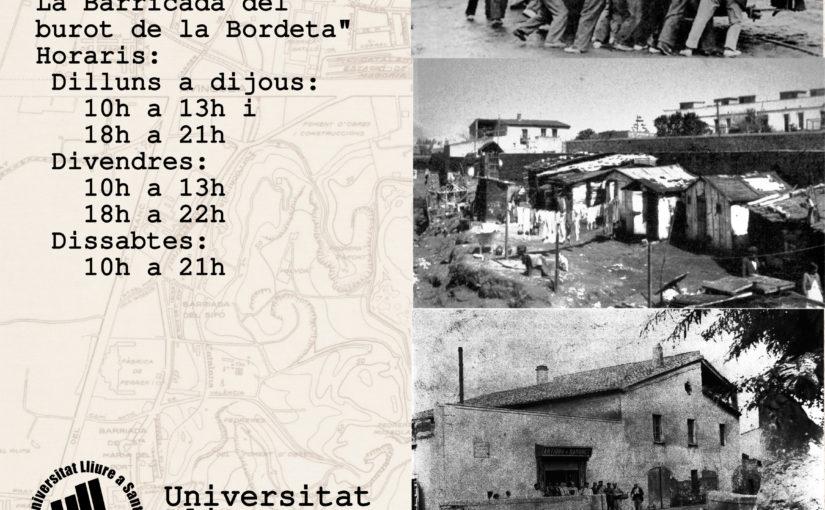Insurrecció a la Bordeta, Desembre 1933 #BordetaInsu33 2018