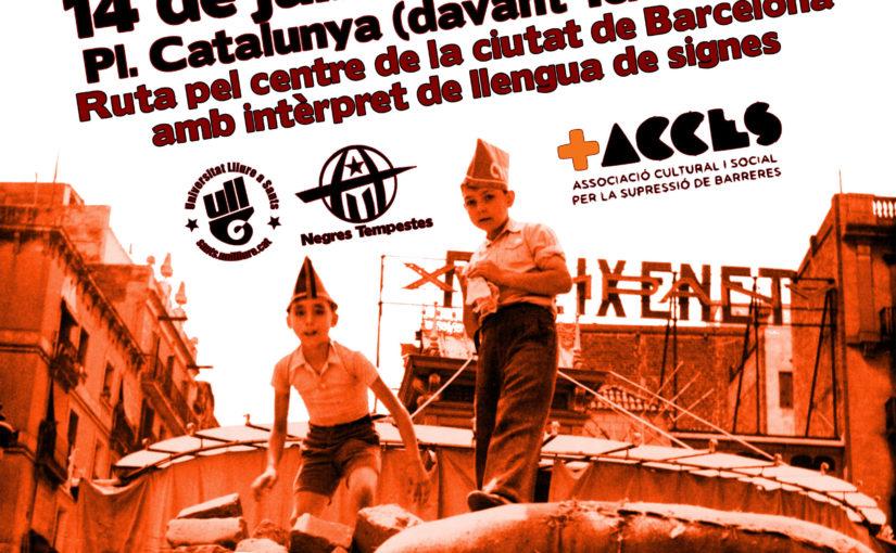 Ruta per la Revolució Social a Barcelona (ed 2019)